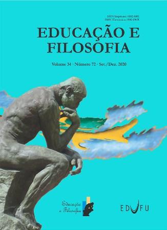 Capa da Revista Educação e Filosofia